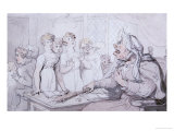 The Cruel Mistress Posters by Thomas Rowlandson