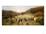 Leaving the Hills, 1874 Reproduction procédé giclée par Joseph Farquharson