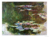 Lily Pond, 1881 Premium Giclee Print by Claude Monet