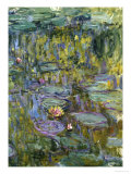 Water Lilies, Nympheas Giclee Print by Claude Monet