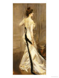 The Black Sash, circa 1905 Giclee Print by Giovanni Boldini