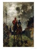 Les Jockeys, 1882 Posters by Henri de Toulouse-Lautrec