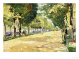 The Tiergarten Park, Berlin Giclee Print by Lesser Ury