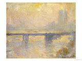 Charing Cross Bridge, 1903 Giclée-tryk af Claude Monet