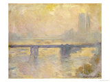 Charing Cross Bridge, 1903 Giclee Print by Claude Monet