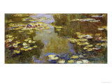 The Lily Pond Giclee Print by Claude Monet