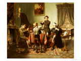 The Quartet Giclee Print by Friedrich-peter Hiddemann