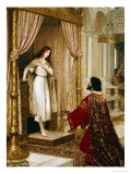 A King and a Beggar Maid, 1898 Giclee Print by Edmund Blair Leighton