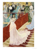 The Row, 1877 Giclee Print by Felicien Rops