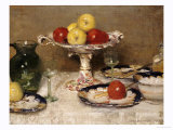 Still Life: Dessert, 1923 Prints by James Paterson
