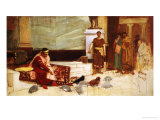 The Favourites of the Emperor Honorius Giclee Print by John William Waterhouse