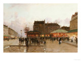 La Fete Forraine a Paris Prints by Luigi Loir