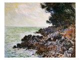 Cap Martin Prints by Claude Monet