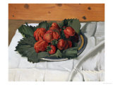 Still Life with Strawberries, 1921 Premium Giclee Print by Félix Vallotton