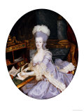 Queen Marie Antoinette of France (1755-1793) Giclee Print by Francois Dumont