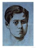 Portrait of a Young Man (Rene de Gas), circa 1859-60 Prints by Edgar Degas