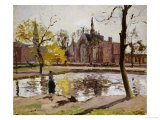 Dulwich College, London Prints by Camille Pissarro