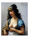 An Eastern Beauty Giclee Print by Luis Riccardo Falero