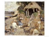 The Summer House, St. Mary's Isle, Kirkcudbright, 1886 Giclee Print by Sir James Guthrie