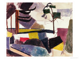 Unfinished Landscape with Tree Branches Giclee Print by Roger de La Fresnaye