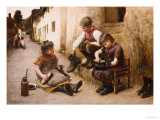 Daddy&#39;s Boots, 1892 Reproduction proc&#233;d&#233; gicl&#233;e par John White