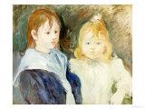 Portrait d'Enfants, 1893 Art by Berthe Morisot