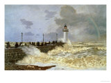 The Quay at le Havre, 1868 Giclee Print by Claude Monet