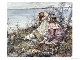 Summer, Brighouse Bay, 1919 Giclee Print by Edward Atkinson Hornel