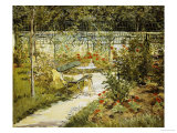 The Bench, the Garden at Versailles Prints by Édouard Manet