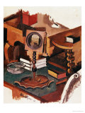 Corner of a Table, Study for &quot;Married Life &quot; Giclee Print by Roger de La Fresnaye