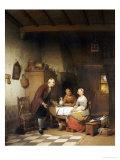 An Unwanted Suitor, 1857 Poster by Ferdinand De Braekeleer