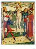 The Martyrdom of Saint Catherine, Swiss School, 1473 Giclee Print