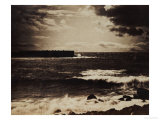 The Great Wave, Sete, 1856-9 Art by Gustave Le Gray