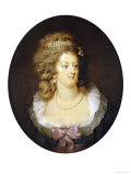 Bust Portrait of Marie-Antoinette (1755-1793) Giclee Print by Jean Guerin