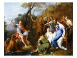 A Mythological Fishing Party Giclee Print by Francesco Fernandi
