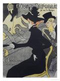 Divan Japonais, 1893 Reproduction procédé giclée par Henri de Toulouse-Lautrec