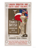 The Franco-British Exhibition, 1908 Giclee Print