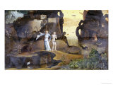 An Angel with a Soul at the Edge of Hell Giclee Print by Hieronymus Bosch