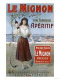 Le Mignon circa 1910 Posters