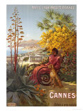 Cannes, P.L.M., circa 1910 Giclee Print by Hugo F, D&#39;alesi