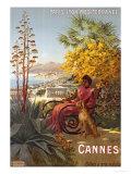 Cannes, P.L.M., circa 1910 Giclee Print by Hugo F, D'alesi