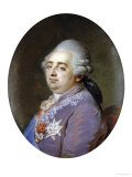Bust Portrait of Louis XVI (1754-1793) Giclee Print by Jean Guerin