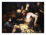The Good Samaritan Giclee Print by Giovanni Battista Langetti