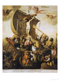 The Boat of Christian Patience Giclee Print by Alejandro De Loarte