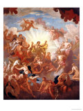 Prometheus Stealing Fire from the Gods Giclee Print by Sir James Thornhill