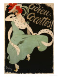 Adieu, Cocottes, 1903 Poster by Jules-Alexandre Grün