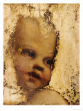 The Head of a Child, a Fragment Poster by  Correggio