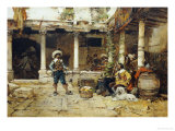 A Good Story Giclee Print by Jose Benlliure Y Gil