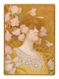 Sarah Bernhardt, 1901 Prints by Paul Berthon