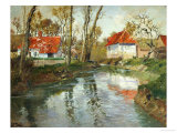 La Laita a Quimperle Giclee Print by Fritz Thaulow